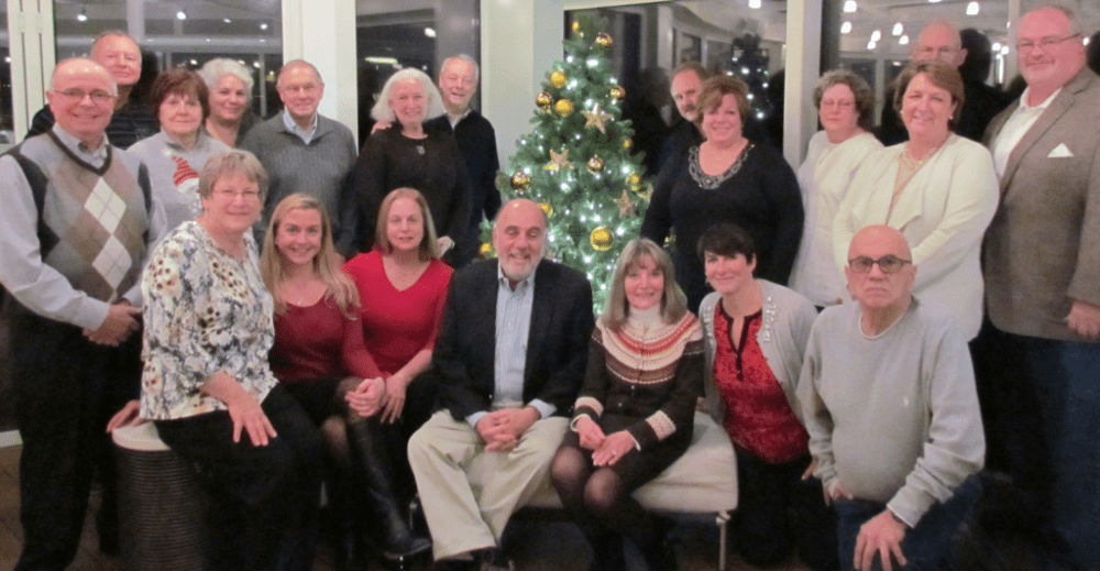 The group that participated in the 2014 European Christmas Markets Cruise