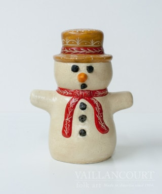 Chalkware Snowman with Coal, VFA Nr. 11041