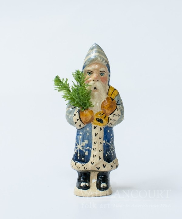 Miniature Father Christmas with Bag, VFA Nr. 2000MS11