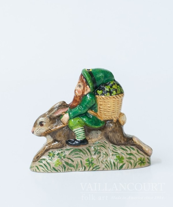 Irish Gnome Ridding Rabbit, VFA Nr. 17017