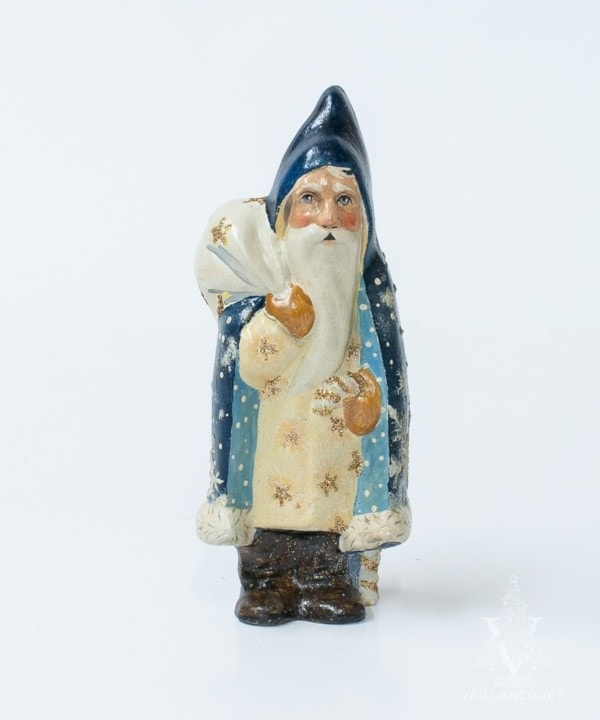 29th Starlight Santa: Blue First Snowfall Santa, VFA Nr. 18030