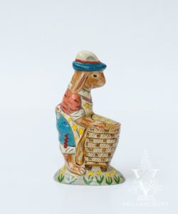 Patriotic Parade Bunny With Basket of Stars, VFA Nr. 18006