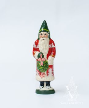 Red Forest Santa with Kissing Ball, VFA Nr. 18080