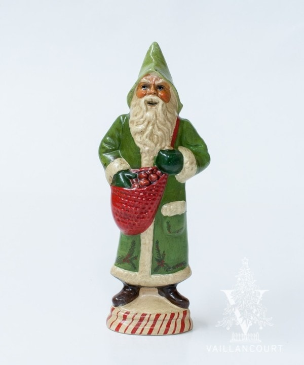 Green Father Christmas with Holly One of a Kind, VFA Nr. 18087