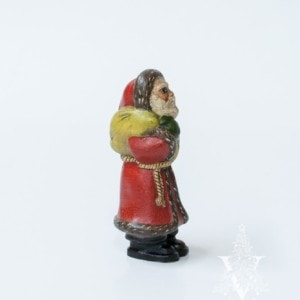 Original Father Christmas with Sack and Crackle Finish One of a Kind, VFA Nr. 18088