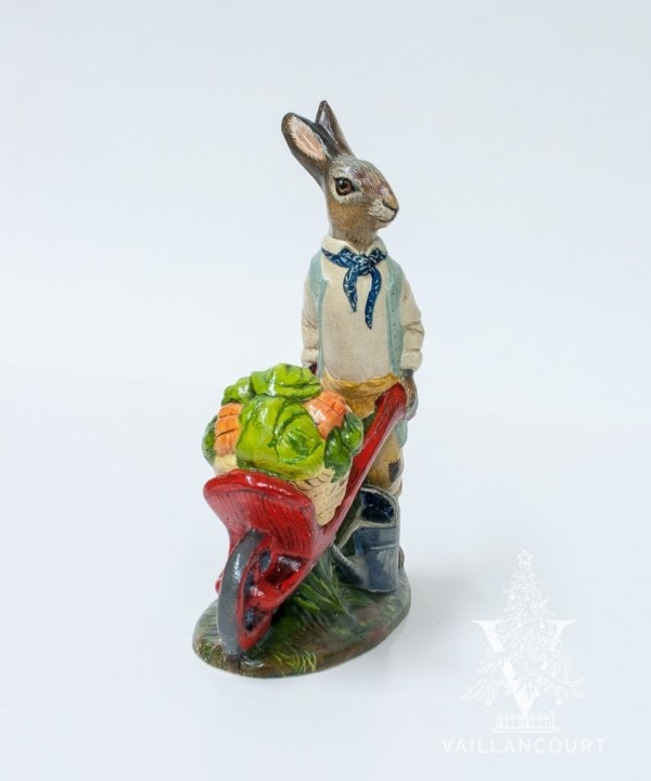 Painting Workshop Dressed Gardening Rabbit, VFA Nr. 19051