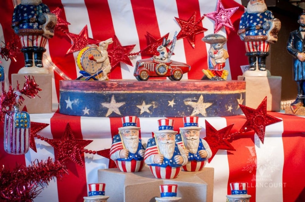 Celebrate Memorial and Independence Day with Vaillancourt Patriotic Chalkware